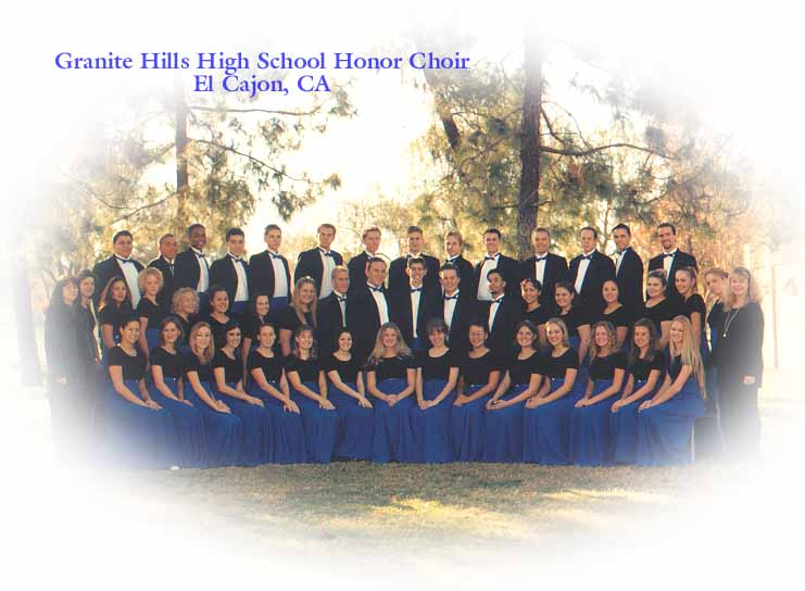 Granite Hills High School Honor Choir
